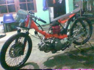 MOTOR DRAG vega r suzuki shogun