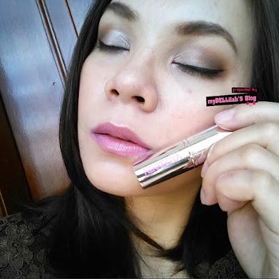 Penggunaan Sarange Nikkeoya - Lipstik Ungu Violet