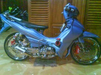 Modif Yamaha Jupiter Z 2009 | Modifikasi Motor Yamaha 2016