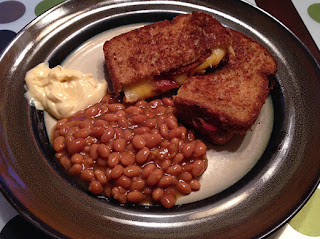 Southern Grilled Cheese and Bacon Sandwiches