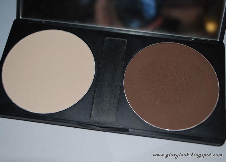 Завершающая макияж пудра Cake Shadow Cheek от Make up for life
