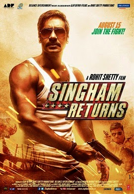 Watch Singham Returns (2014) Hindi Non Retail DVDRip Full Movie Watch Online Free Download