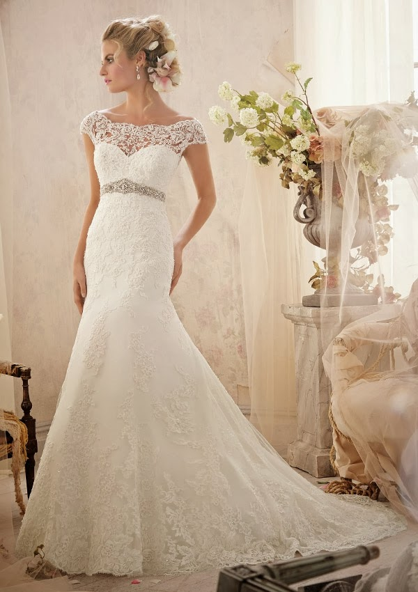 wedding dress mori lee 2014 19 Mori Lee by Madeline Gardner Spring 2014 Collection   Part 1