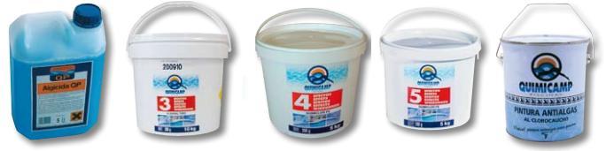 Ferreteria puerta de madrid ofertas en cloro y productos for Piscinas y productos