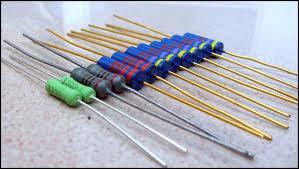 model bentuk fisik resistor