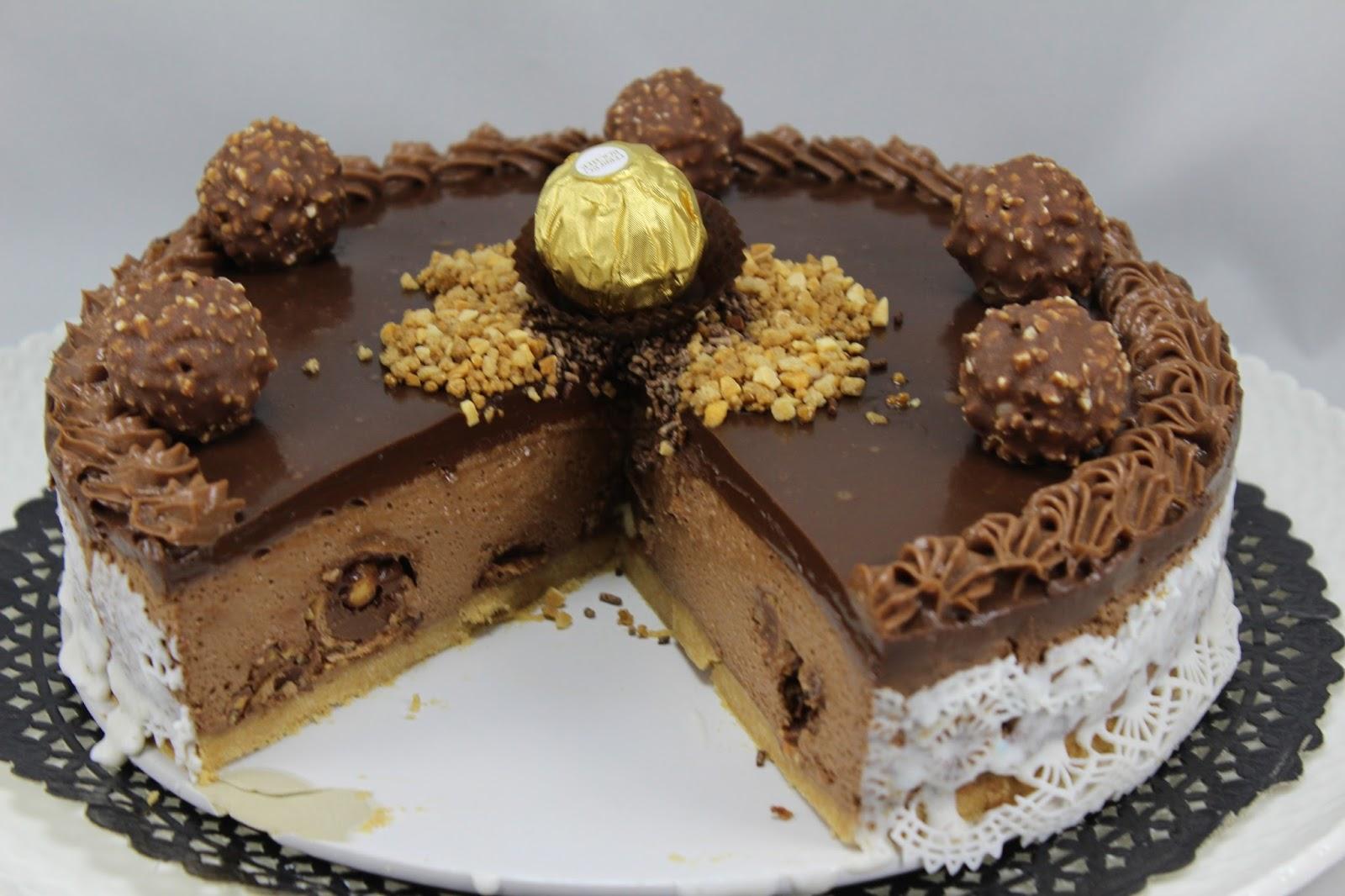 Tarta De Ferrero Rocher Y Nutella