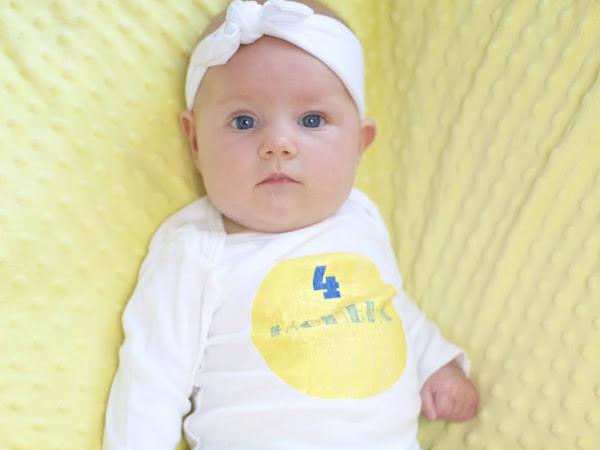 Amelia - 4 months