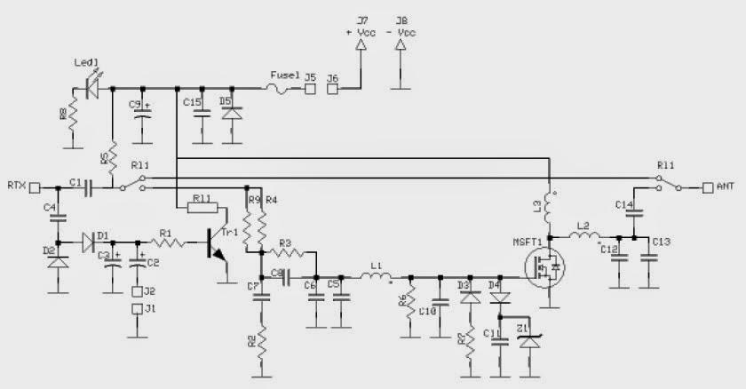 fm transmitters  27mhz 60watt eindtrap