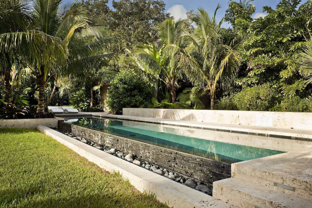 Tropical garden and landscape design modern design by for Modern landscape design