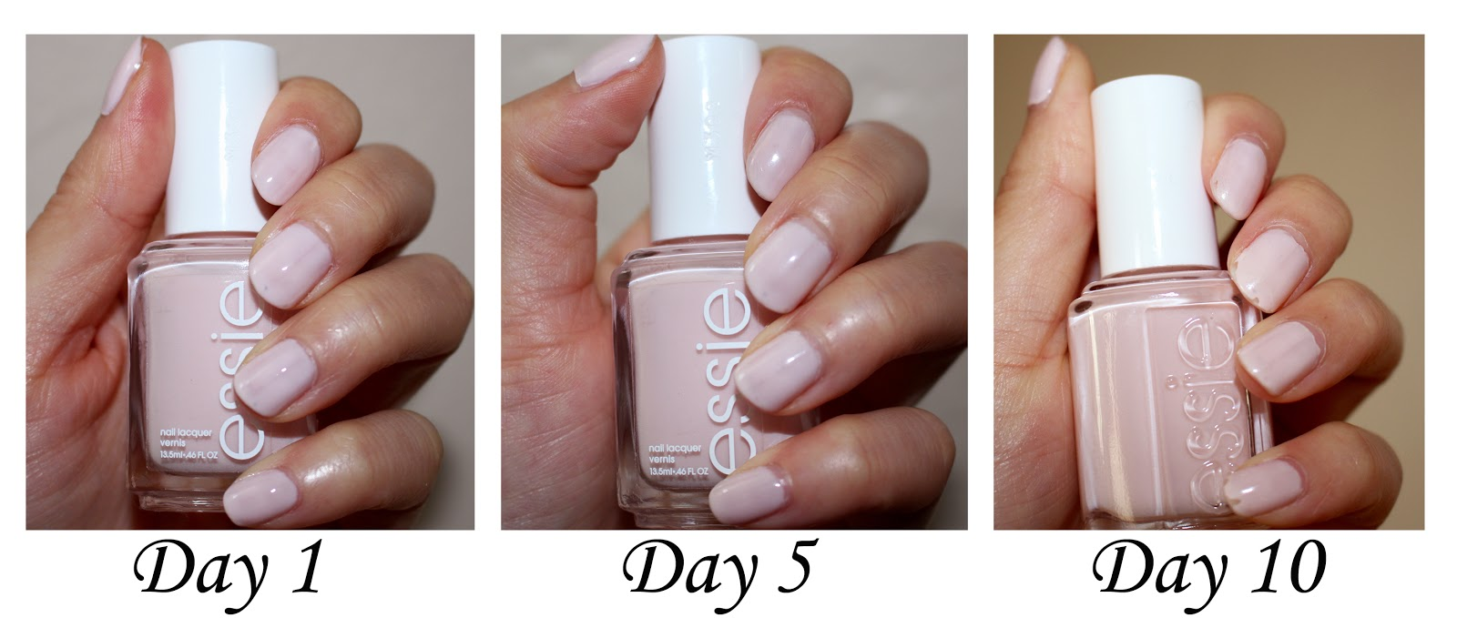 Nails: Essie Gel Setter Top Coat & Ballet Slippers Set Review