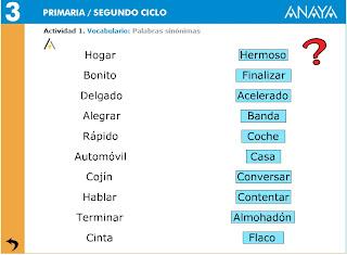 lengua castellana primaria 243 nimos y ant 243 nimos 4 186 de