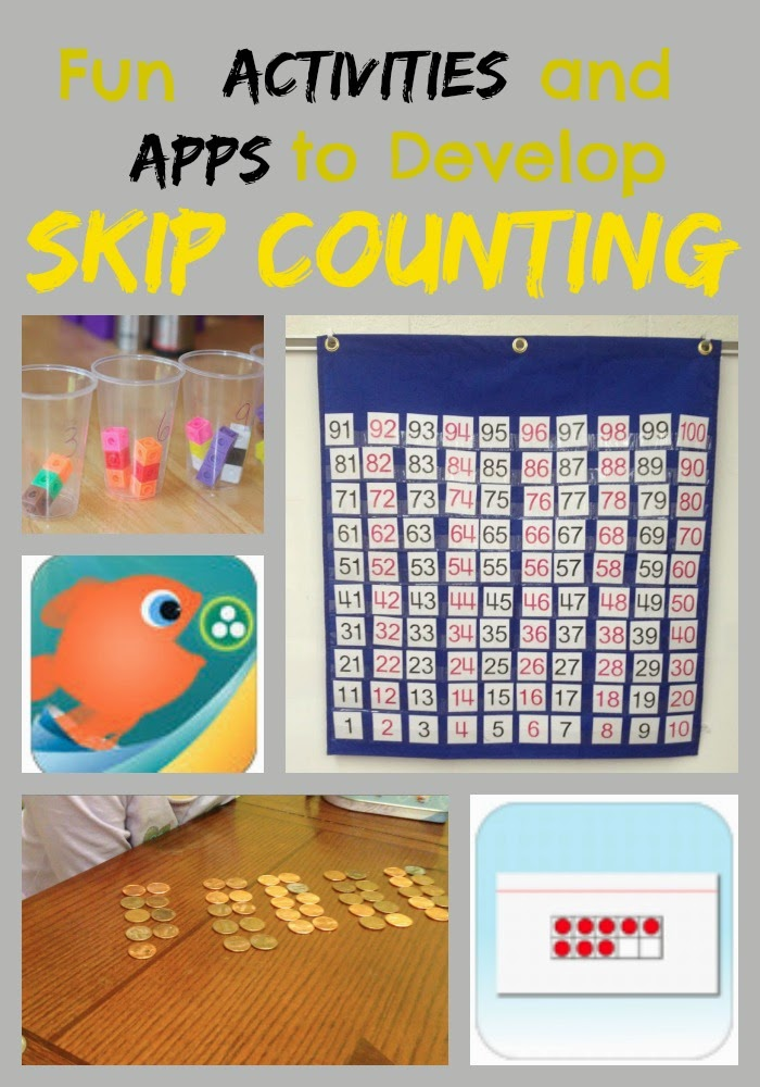 Activities and Apps to develop skip counting