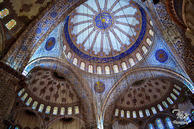 The Ceiling - The Blue Mosque - Y&Y Photography