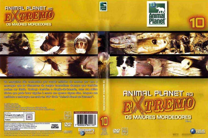 Animal Planet Animais ao Extremo Coleção Completa Animal Planet Ao Extremo 10   Os Maiores Mordedores