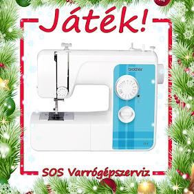 Nyerj karácsonyra egy varrógépet!