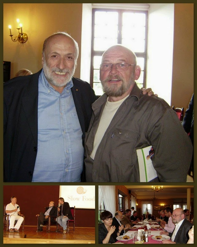 Carlo Petrini w Polsce 2012