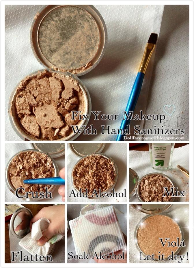 Ciracle Review: Fix Your Damaged Powder Makeup Using Hand Sanitizers!