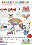 Día de los derechos de los niños (20 noviembre) cartel deberes ninos