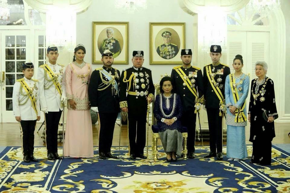 Keluarga DYMM Sultan Johor & DYMM Permaisuri Johor