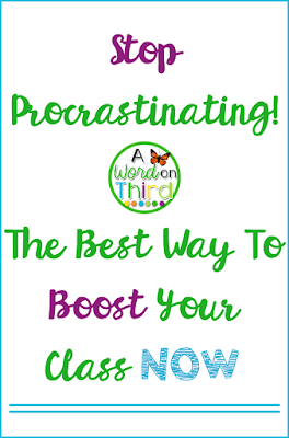 Stop Procrastinating! The Best Way To Boost Your Class Now With New Year Resolutions