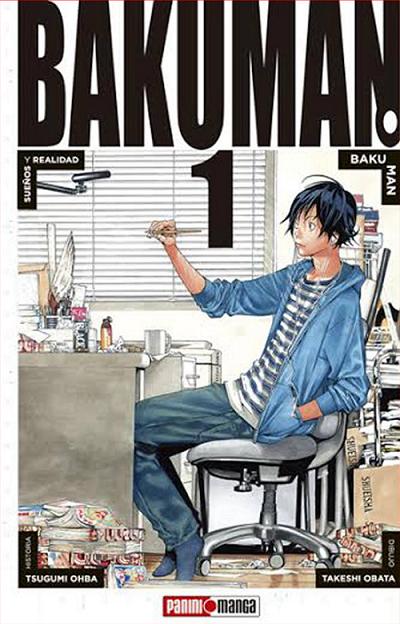 Comics Bakuman%2B1%2Bde%2Bpanini%2Bcomics