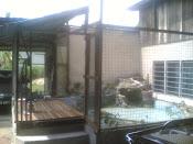 Kolam di rumah saya.