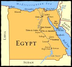ANCIENT EGYPT Geography - Map of egypt geography