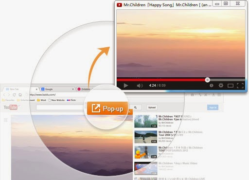 Spark Browser (Pemutar Video Pop-up)