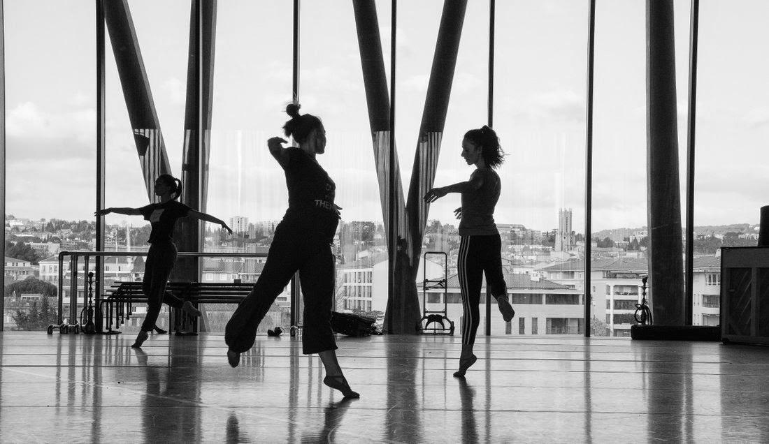 Aix en Provence - Pavillon noir - répétition