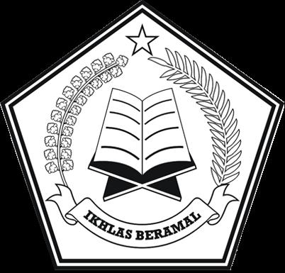 Logo Kemenag - Kementerian Agama - Depag - Departemen Agama - versi Hitam Putih (BW)
