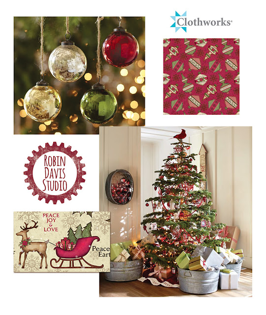 Christmas color inspirations - Robin Davis Studio