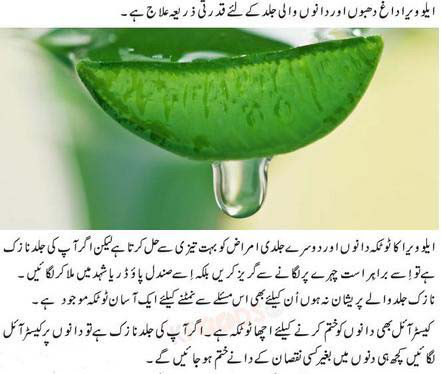 aloe vera for oily skin