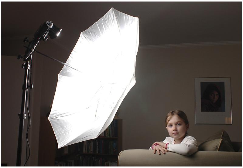 Lighting 101: Using Umbrellas
