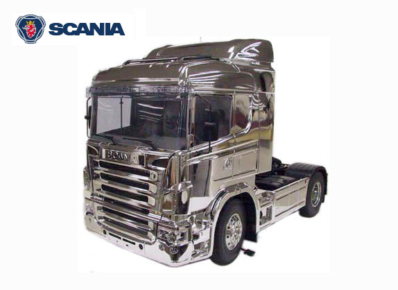 videos de camiones radio control scania R470 highline metal edition