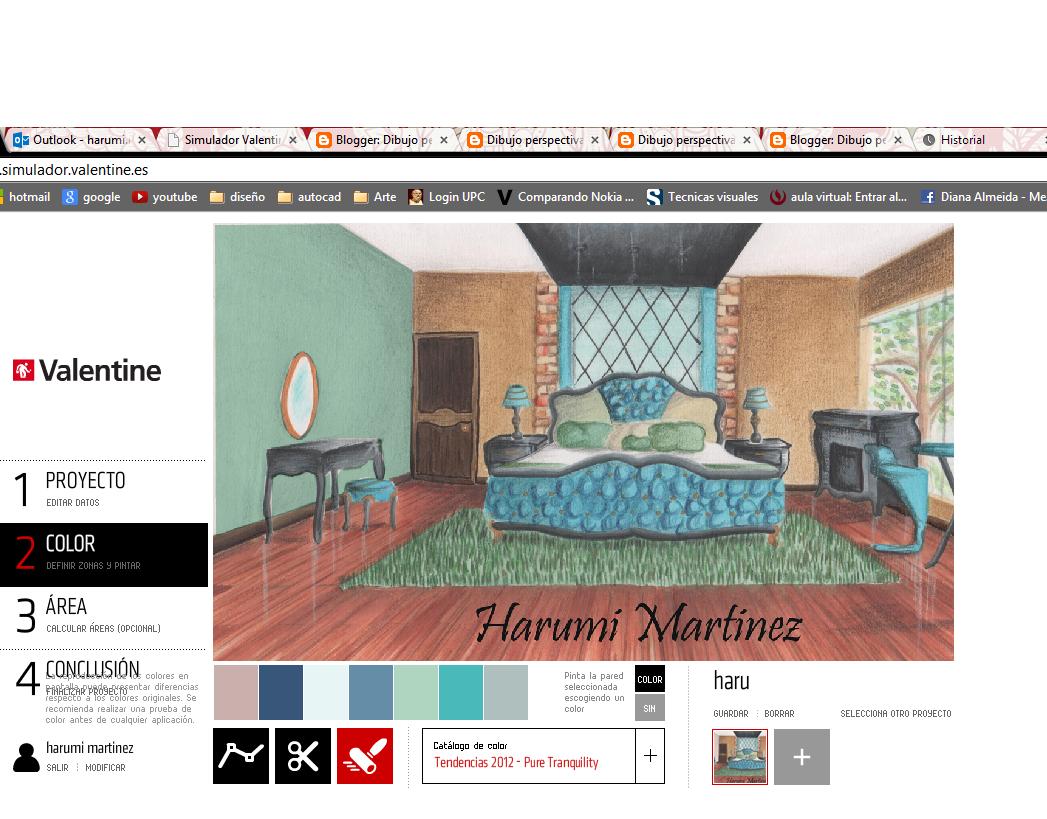Dibujo Perspectiva Y Color Harumi Martinez Simulador Valentine