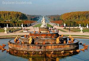 Taman Istana Versailles Perancis