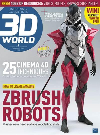 3D World Magazine Issue September 2015