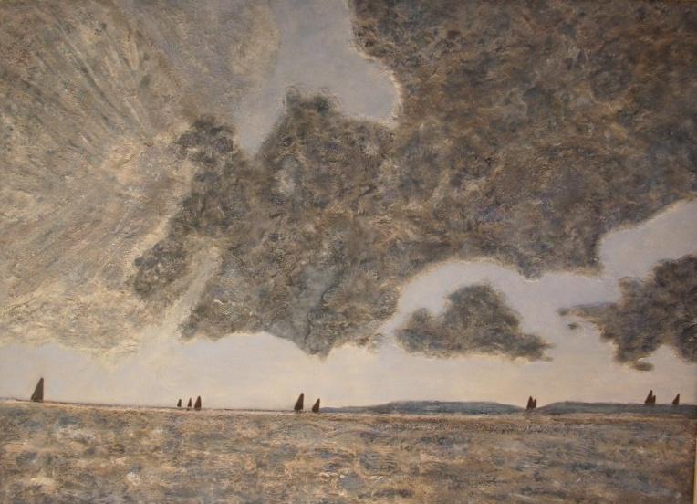 Atelier de angeles cuadros hechos con arena de playa - Cuadros hechos con piedras de playa ...