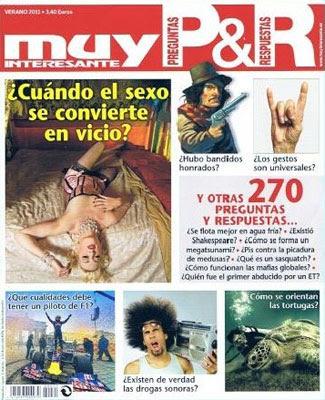 Revista Muy interesante - Preguntas y respuestas 2011