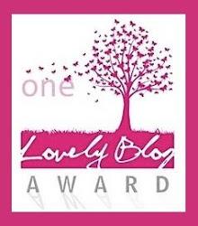 Premi One Lovely Blog Award. Rebut de Fer de paper