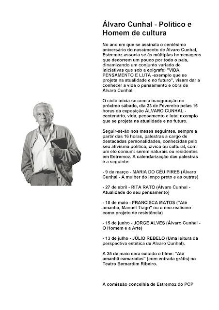 Álvaro Cunhal - Centenário
