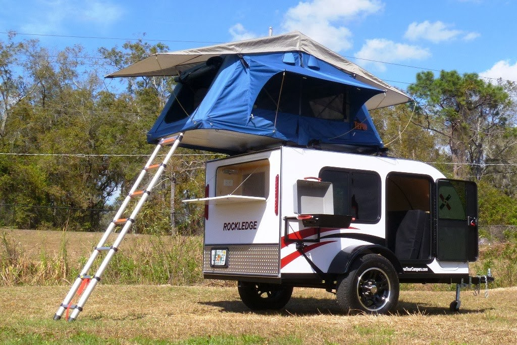 These Tampa Florida Teardrop Trailers Are Built To Be Very Lightweight And Flexible With A Large Interior Capacity That Forgoes The Traditional