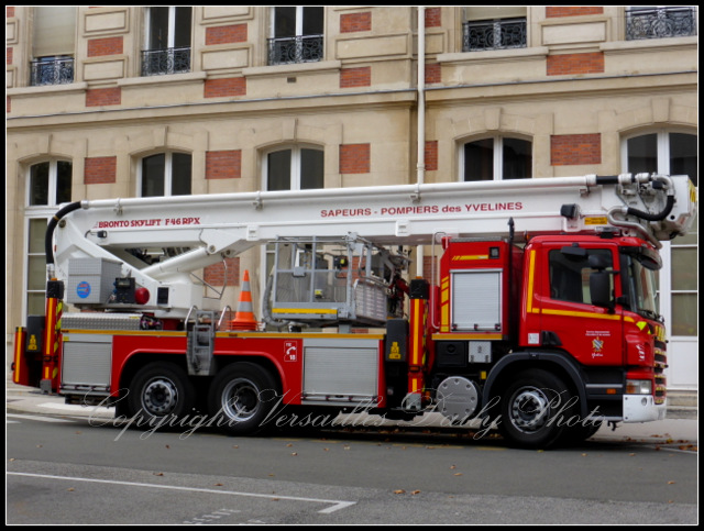 Fire engine Versailles