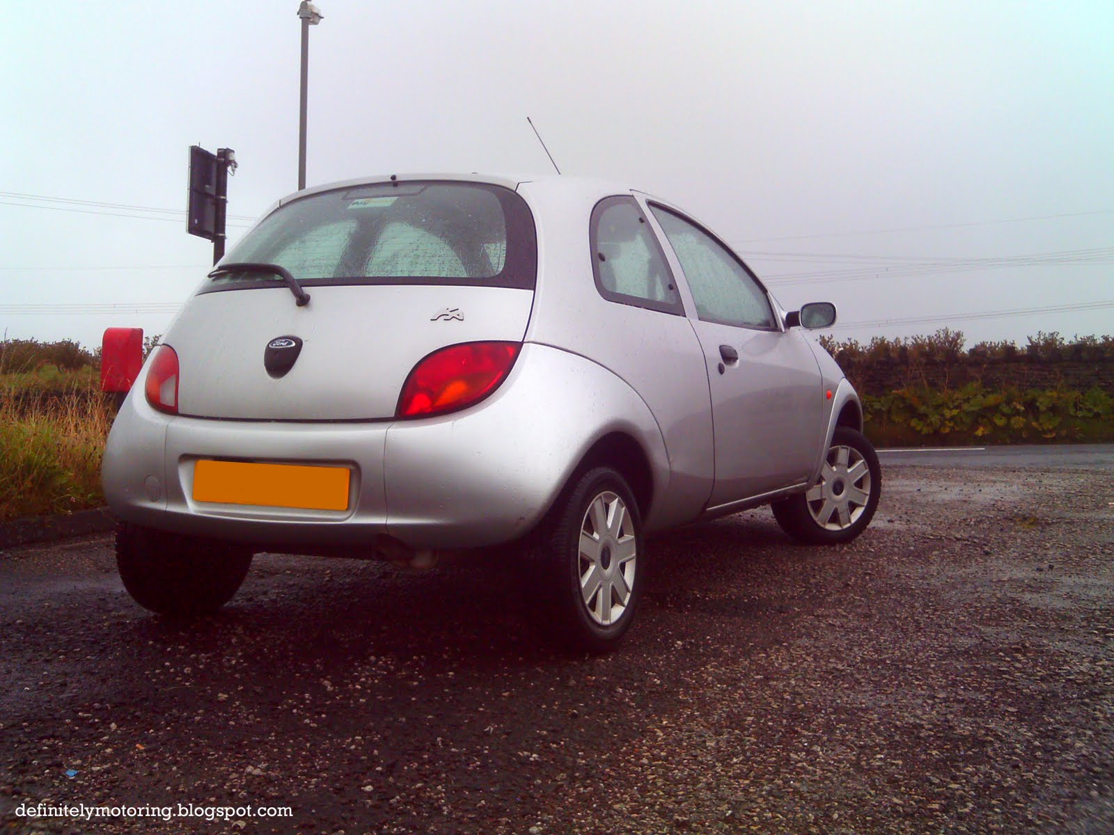 Many Thanks To My Stepfather Paul On Lending Me The Ka Whilst Mine If Is Off The Road It Is Very Much Appreciated