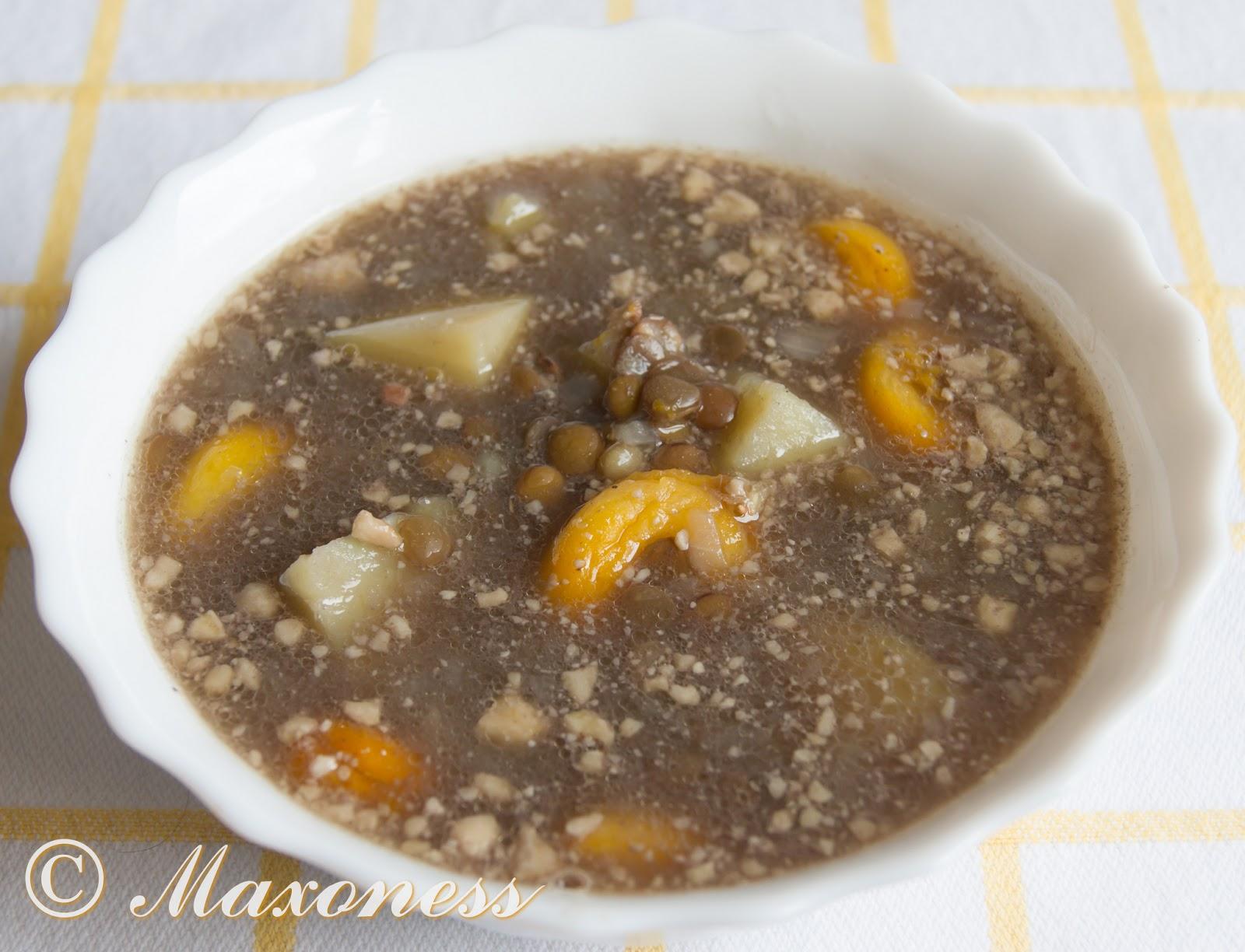Суп с чечевицей по-армянски. Армянская кухня.