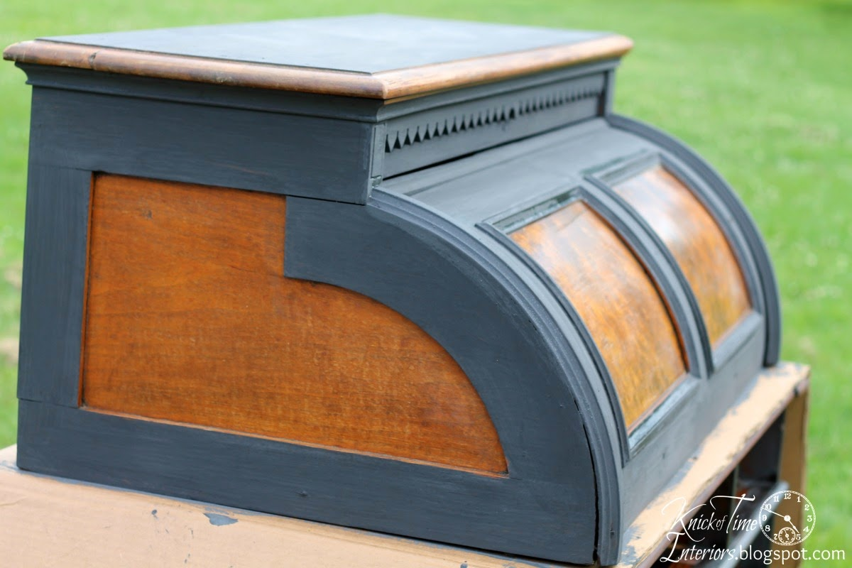 Antique Roll Top Desk Makeover Reveal U2013 Part 2 {with Outtakes}