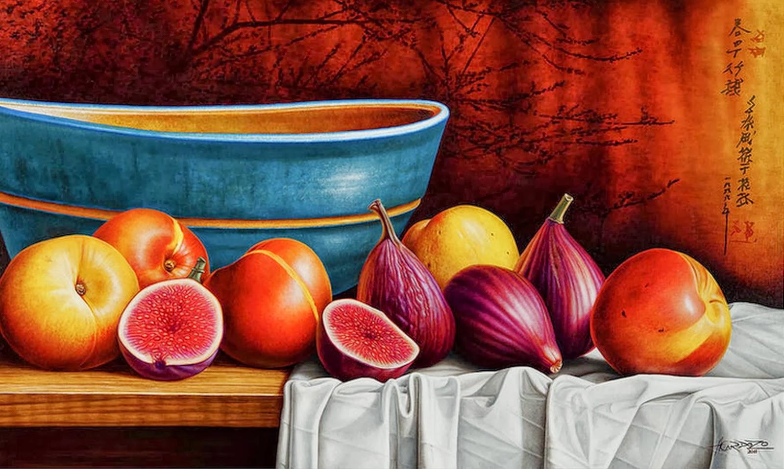 Cuadros modernos pinturas y dibujos cuadros de frutas al - Cuadros bodegones modernos ...