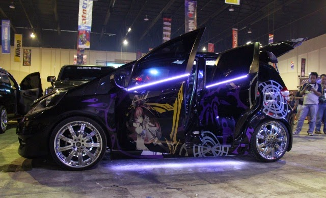 Foto Modifikasi Mobil Suzuki Swift extreme