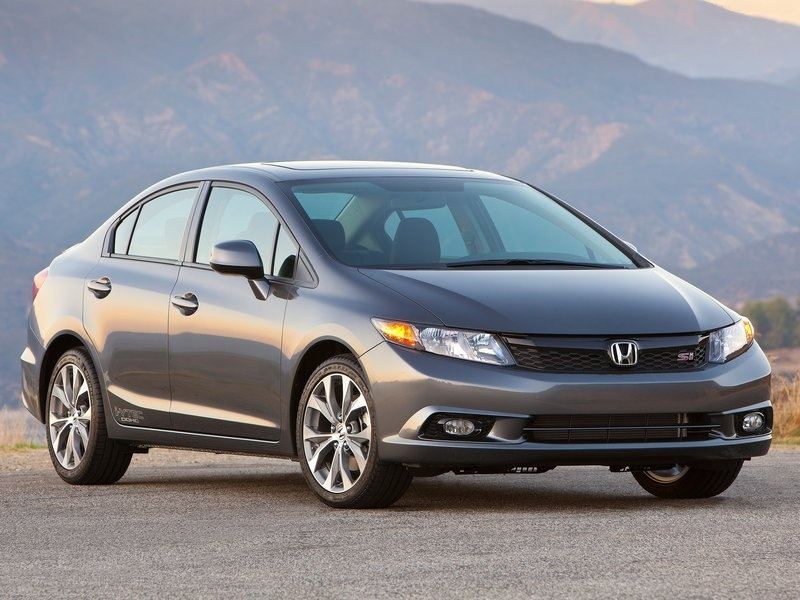 all car news honda civic si sedan 2012 2013 review and video. Black Bedroom Furniture Sets. Home Design Ideas
