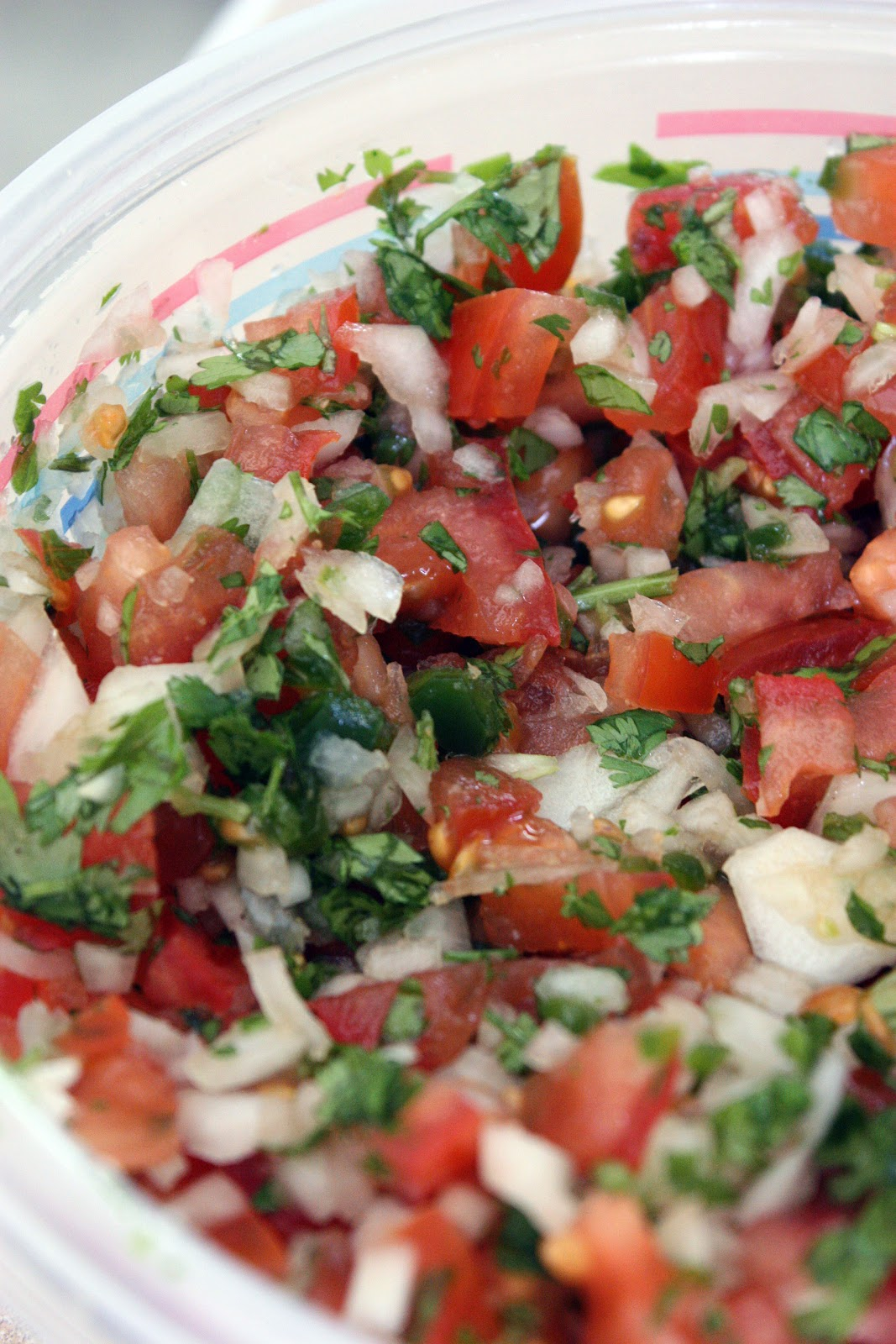 Imperfectly Wonderful World: Easy Pico De Gallo